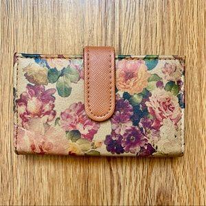 $5 BUY 2 GET 1 VTG Floral Wallet